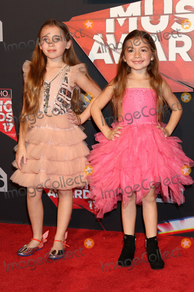 Photo - LOS ANGELES - MAR 5:  Sofia Jellen, Olivia Jellen at the 2017 iHeart Music Awards at Forum on March 5, 2017 in Los Angeles, CA