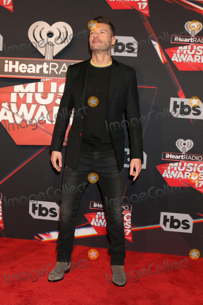 Photo - LOS ANGELES - MAR 5:  Ryan Seacrest at the 2017 iHeart Music Awards at Forum on March 5, 2017 in Los Angeles, CA