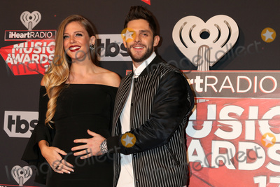 Thomas Rhett Photo - LOS ANGELES - MAR 5:  Lauren Gregory, Thomas Rhett at the 2017 iHeart Music Awards at Forum on March 5, 2017 in Los Angeles, CA