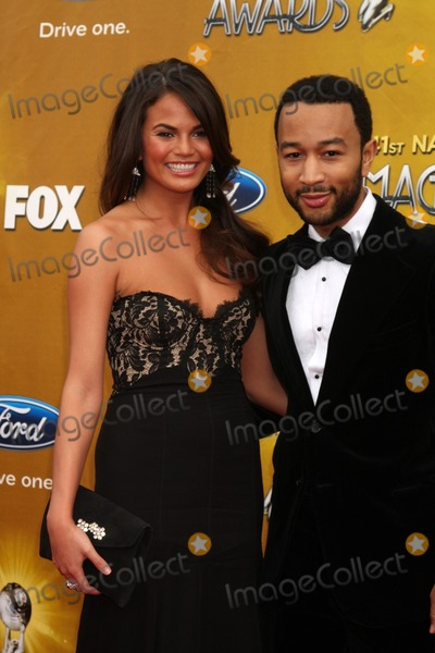 John Legend, Christie Teigen, JOHN  LEGEND Photo - Christy Teigen & John Legend