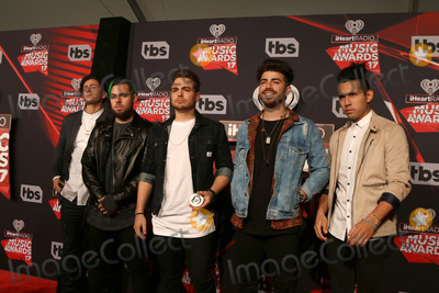 Juanes, Matt Reis, Juan Pablo Photo - LOS ANGELES - MAR 5:  Matt Rey, Tomas Slemenson, Juan Pablo Casillas, Hector Rodriguez, Ismael Cano, Los 5 at the 2017 iHeart Music Awards at Forum on March 5, 2017 in Los Angeles, CA