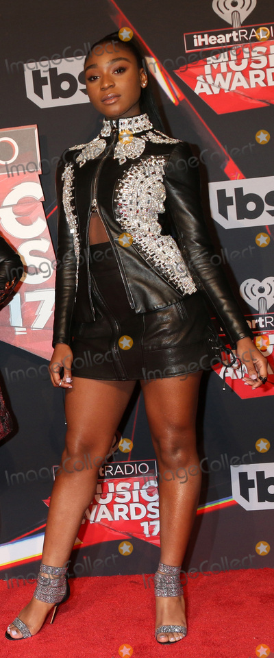 Photo - LOS ANGELES - MAR 5:  Normani Kordei Hamilton at the 2017 iHeart Music Awards at Forum on March 5, 2017 in Los Angeles, CA