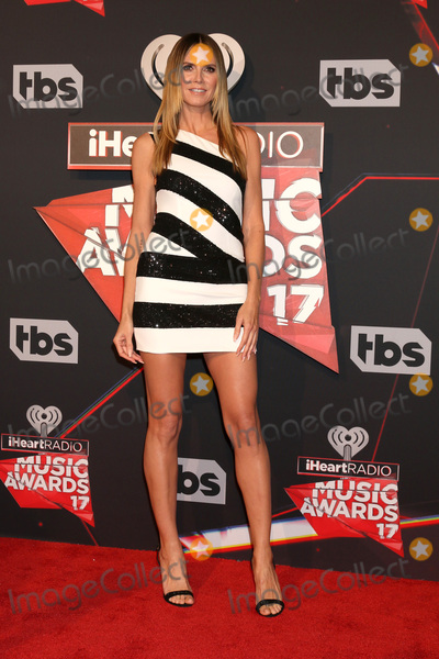 Photo - LOS ANGELES - MAR 5:  Heidi Klum at the 2017 iHeart Music Awards at Forum on March 5, 2017 in Los Angeles, CA