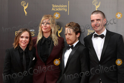 Ellen Page Photo - LOS ANGELES - SEP 11:  Ellen Page, Guest, Ian Daniel at the 2016 Primetime Creative Emmy Awards - Day 2 - Arrivals at the Microsoft Theater on September 11, 2016 in Los Angeles, CA