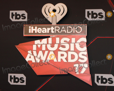 Photo - LOS ANGELES - MAR 5:  iHeart Music Awards 2017 emblem at the 2017 iHeart Music Awards at Forum on March 5, 2017 in Los Angeles, CA