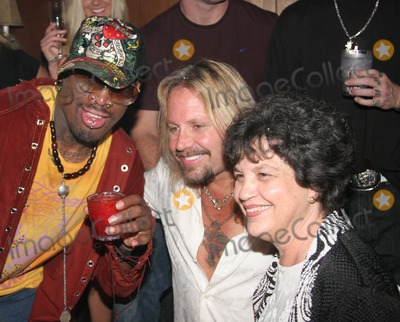 Dennis Rodman, Robert Van Winkle, Todd Wade, Vanilla Ice Photo - West Palm Beach, Fl  1-19-2008