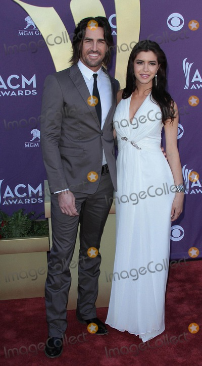 Lady Antebellum, Jake Owen Photo - Jake Owen, Lacey Buchanan    at the 47th Academy of Country Lady Antebellum  Music Awards held at the MGM Grand, Las Vegas.