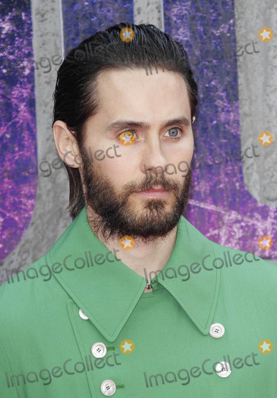 """Jared Leto Photo - Photo by: KGC-254/starmaxinc.comSTAR MAX2016ALL RIGHTS RESERVEDTelephone/Fax: (212) 995-11968/3/16Jared Leto at the premiere of """"Suicide Squad"""".(London, England)"""
