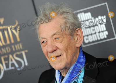 """Photo - Photo by: Dennis Van Tine/starmaxinc.comSTAR MAX2017ALL RIGHTS RESERVEDTelephone/Fax: (212) 995-11963/13/17Ian McKellen at the premiere of """"Beauty And The Beast"""" in New York City."""