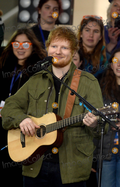 Ed Sheeran Photo - Photo by: Dennis Van Tine/starmaxinc.comSTAR MAX2017ALL RIGHTS RESERVEDTelephone/Fax: (212) 995-11963/8/17Ed Sheeran performs on The Today Show in New York City.