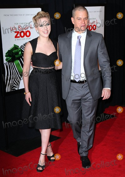 Matt Damon, Scarlett Johansson Photo - Photo by: Jackson Lee/starmaxinc.com