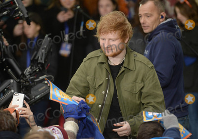 Photo - Photo by: Dennis Van Tine/starmaxinc.comSTAR MAX2017ALL RIGHTS RESERVEDTelephone/Fax: (212) 995-11963/8/17Ed Sheeran performs on The Today Show in New York City.