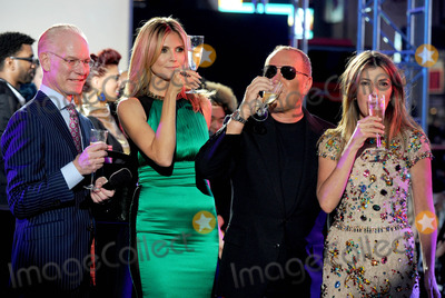Heidi Klum, Tim Gunn, Michael Kors, Nina Garcia Photo - Photo by: Dennis Van Tine/starmaxinc.com