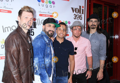 Backstreet Boys, Backstreet  Boys Photo - Photo by: Raoul Gatchalian/starmaxinc.comSTAR MAX2017ALL RIGHTS RESERVEDTelephone/Fax: (212) 995-11964/20/17Backstreet Boys at the grand opening celebration of Sugar Factory American Brasserie's newest location at the Fashion Show in Las Vegas, Nevada.