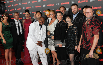 "Photo - LOS ANGELES, CA - OCTOBER 3:  Cast and crew of ""The Walking Dead"" at Premiere Screening of AMC's ""The Walking Dead"" Season 2 held at Regal Cinema 16 at L.A. Live on Monday October 3, 2011  in Los Angeles, California  (Albert L. Ortega/ImageCollect.com)"