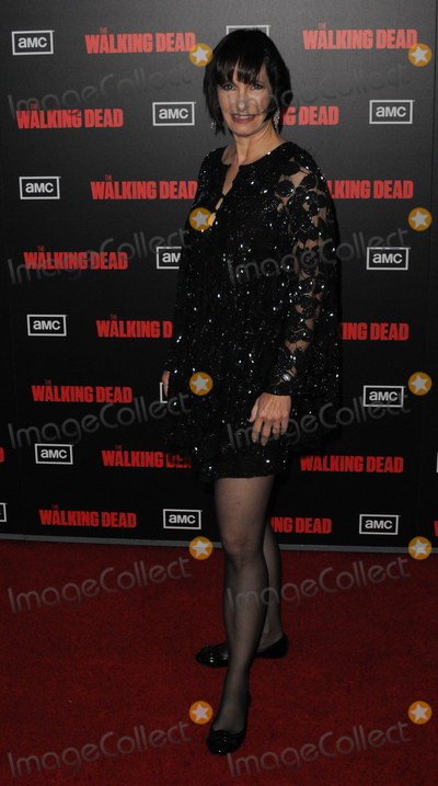 "Gale Anne Hurd, Gale Ann Hurd Photo - LOS ANGELES, CA - OCTOBER 3: Producer Gale Anne Hurd at Premiere Screening of AMC's ""The Walking Dead"" Season 2 held at Regal Cinema 16 at L.A. Live on Monday October 3, 2011  in Los Angeles, California  (Albert L. Ortega/ImageCollect.com)"