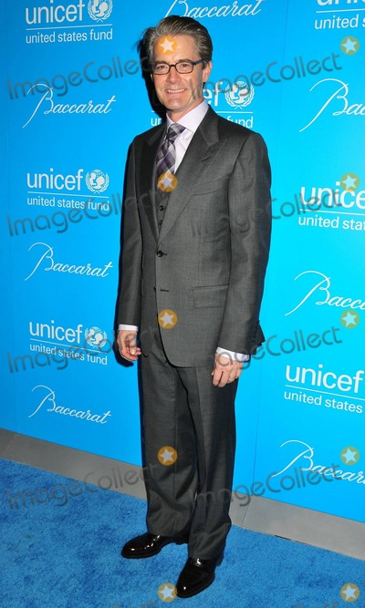 Photo - Kyle MacLachlan poses on the blue carpet at the 7th annual UNICEF Snowflake Ball held at Cipriani 42nd Street. New York, NY. 11/30/10.