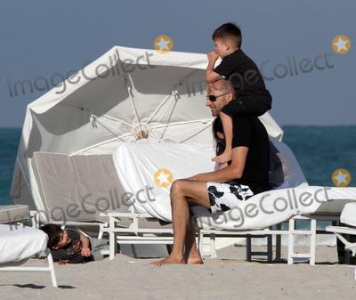 Photo of Mark Strong & his  Son  Roman Strong