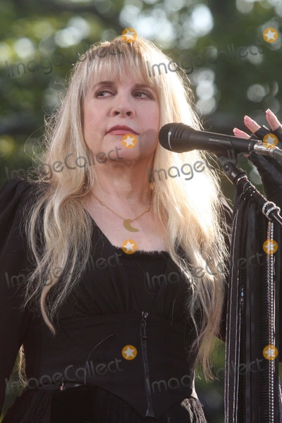 "Stevie Nicks Photo - Stevie Nicks Performing on Abc's ""Good Morning America's"" 2011 Summer Concert Series at Rumsey Playfield in Central Park in New York City on 08-26-2011. Photo by Henry Mcgee-Globe Photos, Inc. 2011."