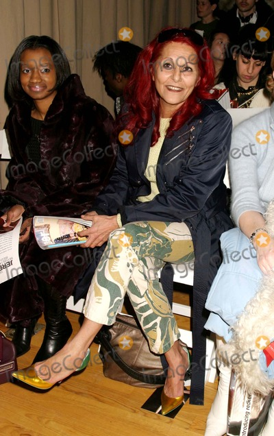 Patricia Field, Jeremy Scott, PATRICIA FIELDS Photo - Patricia Field at Jeremy Scott Showing of Fall Collection at the Altman Building in New York City on 02-11-2005. Photo by Henry Mcgee/Globe Photos, Inc. 2005