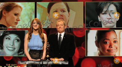 Jennifer Lawrence, Samuel Goldwyn, Tom Sherak Photo - Actress Jennifer Lawrence (L) and Academy of Motion Picture Arts and Sciences President Tom Sherak announce the 84th Academy Awards nominations at the Academy of Motion Picture Arts and Sciences Samuel Goldwyn Theater on January 24, 2012 in Los Angeles, California.