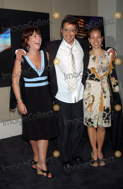 Downey Photo - Robert Downey Jr with wife Susan and Allyson DowneyAllyson Downey, Robert Downey