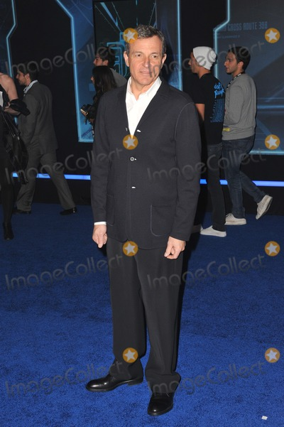 "Robert Iger Photo - Disney boss Robert Iger at the world premiere of ""Tron: Legacy"" at the El Capitan Theatre, Hollywood.