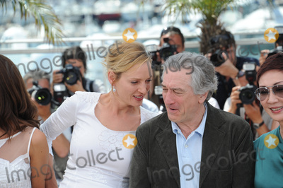 Robert De Niro, Uma Thurman, The Jury Photo - Uma Thurman & Robert De Niro at the photocall for the jury at the 64th Festival de Cannes.