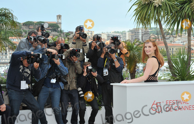 "Jessica Chastain Photo - Jessica Chastain at the photocall for their new movie ""Lawless"", in competition at the 65th Festival de Cannes.