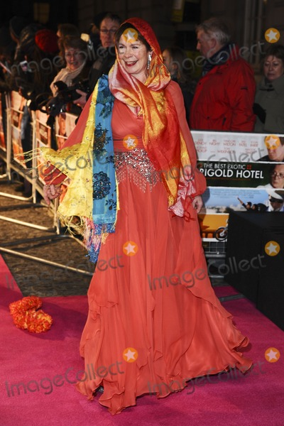 "Celia Imrie Photo - Celia Imrie arriving for the premiere of ""The Best Exotic Marigold Hotel"" at the Curzon Mayfair cinema, London. 07/02/2012 Picture by: Steve Vas / Featureflash"