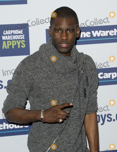 Photo - Wretch 32 arriving for the 2012 Carphone Warehouse Appy Awards 