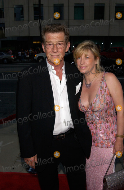 Photos and Pictures - Actor JOHN HURT & partner SARAH ...