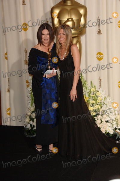 Colleen Atwood, Jennifer Aniston Photo - JENNIFER ANISTON (right) & COLLEEN ATWOOD at the 78th Annual Academy Awards at the Kodak Theatre in Hollywood.
