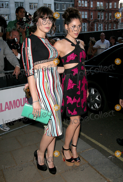 Daisy Lowe, Eliza Doolittle Photo - Daisy Lowe and Eliza Doolittle arriving for the 2011 Glamour Awards, Berkeley Square, London. 07/06/2011 Picture by: Alexandra Glen / Featureflash
