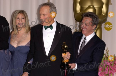 Barbra Streisand, Clint Eastwood, Dustin Hoffman Photo - CLINT EASTWOOD & BARBRA STREISAND & DUSTIN HOFFMAN at the 77th Annual Academy Awards at the Kodak Theatre, Hollywood, CA
