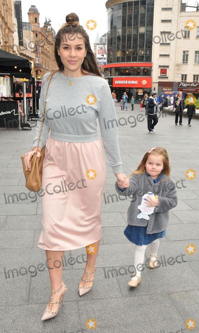 "Photo - London, UK. Imogen Thomas and Ariana Siena Horsley  at the ""Smurfs: The Lost Village"" gala film screening, Cineworld Leicester Square.  20th March 2017.Ref: LMK315-S112CNUG-200317. Can Nguyen/Landmark Media. WWW.LMKMEDIA.COM."
