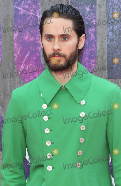 Jared Leto Photo - London, UK. Jared Leto at the European Premiere of 'Suicide Squad' at the Odeon Leicester Square, London on August 3rd 2016Ref: LMK73-60940-040816Keith Mayhew/Landmark MediaWWW.LMKMEDIA.COM