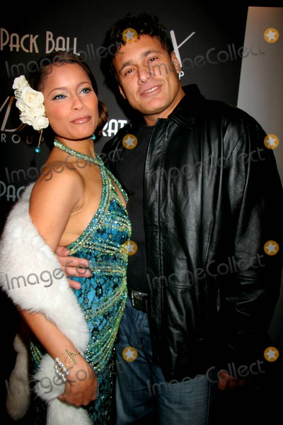 "Blu Cantrell, Rat Pack, Scarface, Steven Bauer Photo - the First Annual ""Rat Pack Ball"" West Sunset Blvd, Hollywood, CA 12-12-2006 Blu Cantrell with Steven Bauer - Scarface Photo: Clinton H. Wallace-photomundo-Globe Photos Inc"