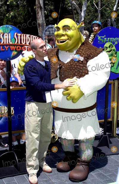 Jeffrey Katzenberg Photo - World Premiere of Shrek 4-d Universal Studios Hollywood, Universal City, CA 05/10/2003 Photo by Milan Ryba / Globe Photos Inc 2003 Jeffrey Katzenberg