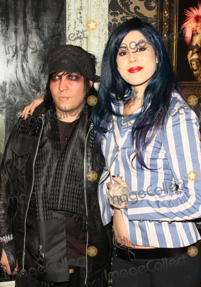 Kat Von D Photo - Kevin Llewellyn; Kat Von D the 16th Annual Los Angeles Art Show Opening Night Premiere Party Held at the Los Angeles Convention Center, Los Angeles 01-19-2011 photo: Tleopold-globephotos, Inc. 2011