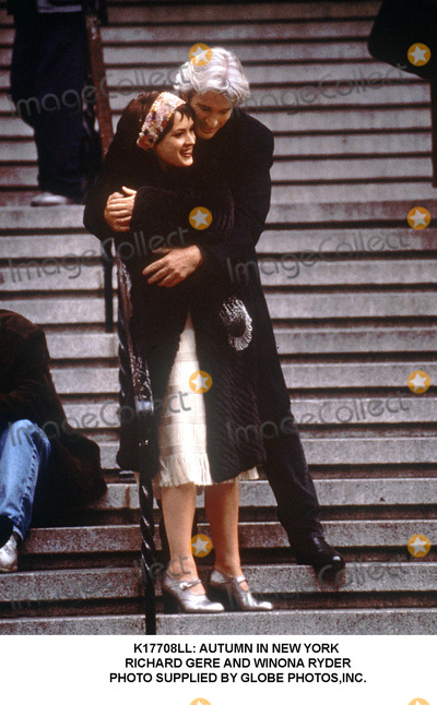 Richard Gere, Winona Ryder Photo - : Autumn in New York Richard Gere and Winona Ryder Photo Supplied by Globe Photos,inc.