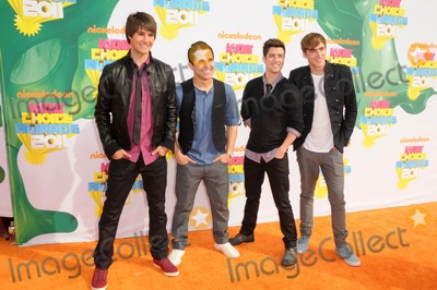 Big Time, Big Time Rush, Rush Photo - Big Time Rush attending the Nickelodeon's 24th Annual Kids' Choice Awards Held at the Galen Center in Los Angeles, California on 4/2/11 photo by: D. Long- Globe Photos Inc.