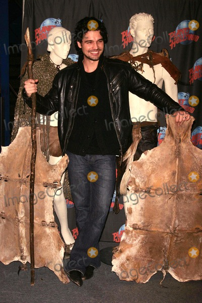 "Steven Strait Photo - Steven Strait, Unveils Costumes and Props From His Warner Brother's Film, ""10,000 Bc"" at Planet Hollywood Times Square, NYC. 03-03-2008 Photos by Rick Mackler Rangefinder-Globe Photos Inc.2008 Steven Strait"