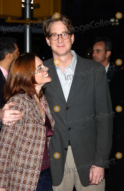 "David Koepp Photo - World Premiere of ""Secret Window"". at Loews Lincoln Square, New York City 03/07/2004 Photo by Ken Babolcsay/ipol/Globe Photos Inc David Koepp and Wife"