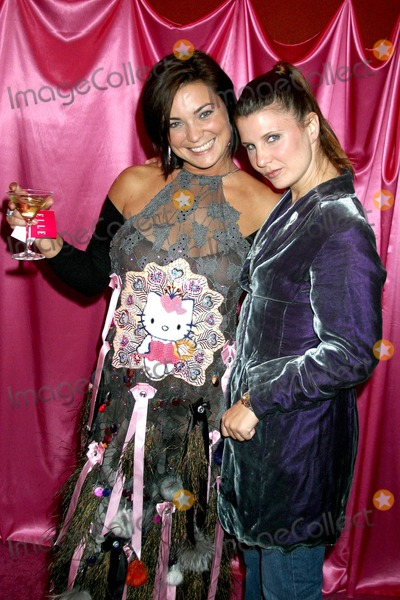 Pink, Tarina Tarantino, Kittie Photo - the Official Launch Party of the Hello Kitty Pink Head Collection by Designer Tarina Tarantino at Vida, Los Feliz, CA 11/13/2003 Photo by Clinton H. Wallace/ Ipol / Globe Photos Inc 2003 Tracy and Samantha May