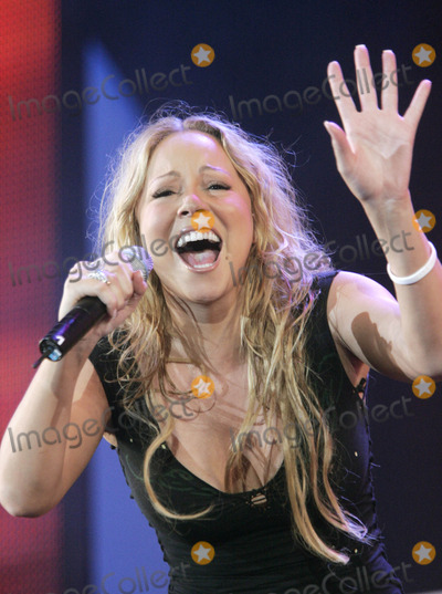 Mariah Carey Photo - Mariah Carey Live 8 Hyde Park, London, Uk, July 02. Photo by Alec Michael-Globe Photos Inc,