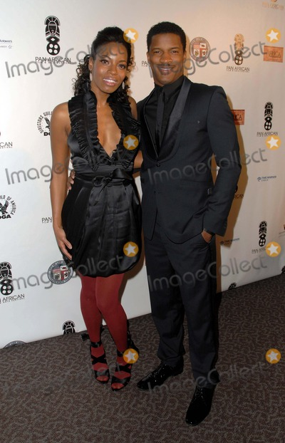 "Nate Parker Photo - The 18th Annual Pan African Film Festival Opening Gala and Premiere of ""Blood Done Sign My Name"" at the Directors Guild of America in Los Angeles, CA 02-10-2010 Photo by Scott Kirkland-Globe Photos @ 2010 Milauna Jemai and Nate Parker"