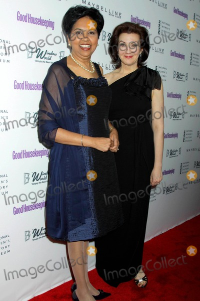 Photo - Good Housekeeping's Annual Shine on Awards Honoring Remarkable Women Radio City Music Hall, NYC April 12, 2011 Photos by Sonia Moskowitz, Globe Photos Inc 2011 Indra Nooyi, Rosemary Ellis