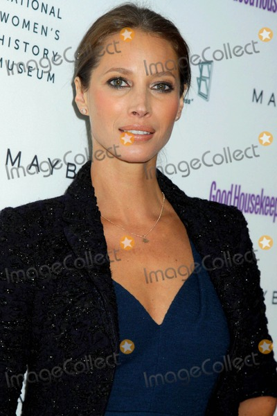 Christy Turlington, Christy Turlington Burns, Christy Turlington-Burns, CHRISTIE TURLINGTON Photo - Good Housekeeping's Annual Shine on Awards Honoring Remarkable Women Radio City Music Hall, NYC April 12, 2011 Photos by Sonia Moskowitz, Globe Photos Inc 2011 Christy Turlington-burns
