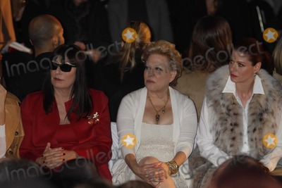 Anjelica Huston, Debra Messing, Bette Midler, Michael Kors Photo - Anjelica Huston Bette Midler Debra Messing at Michael Kors 30th Anniversary Fashion Show at Lincoln Center 2-16-11 Photo by John Barrett/Globe Photos, Inc.2011